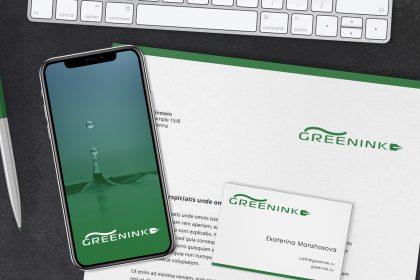 GreenInk – My First Freelance Brand